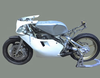 TZ350 frame kit