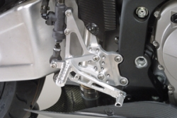 Honda CBR 600RR 03-06 adjustable footrest kit