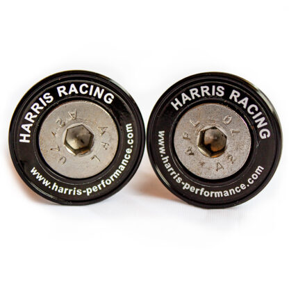 Harris Cotton Reels Black Anodised