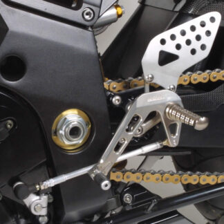 Suzuki GSXR1000 03-04 adjustable footrest kit