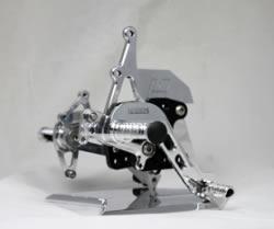 Suzuki GSX-R600 00-03 / GSXR750 00-03 / GSX-R1000 00-02 adjustable footrest kit