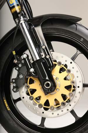 Harley Davidson front discs