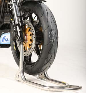 XR1200 Harris Paddock Stands and Tyre Warmers
