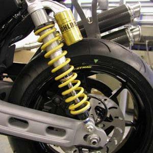 XR1200 Harris Suspension and Steering Damper Upgrades