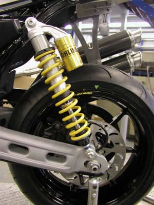 XR1200 Harris Suspension and Steering Damper Upgrades
