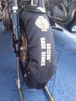 Harley Davidson tyre warmer