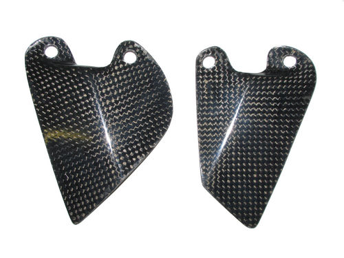 Ducati Carbonfibre Heel Guards (Pair)