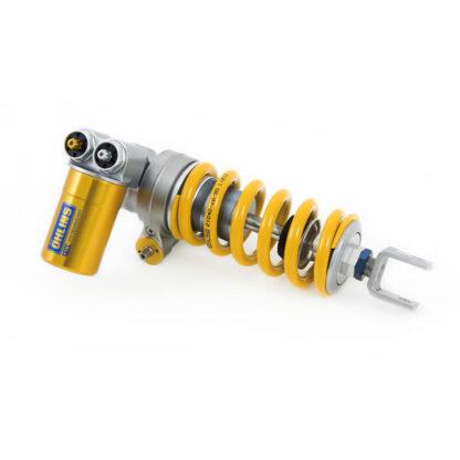 B integrated hydraulic spring preloader adjuster