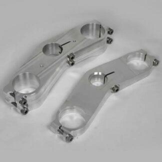 Harris Factory Grandprix / Superbike Ohlins Adjustable Triple Clamp Yokes