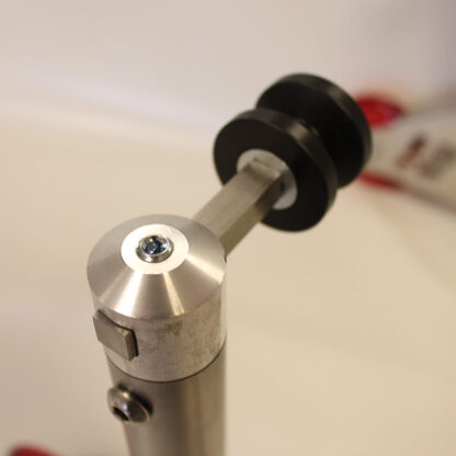 Paddock stand with bobbins