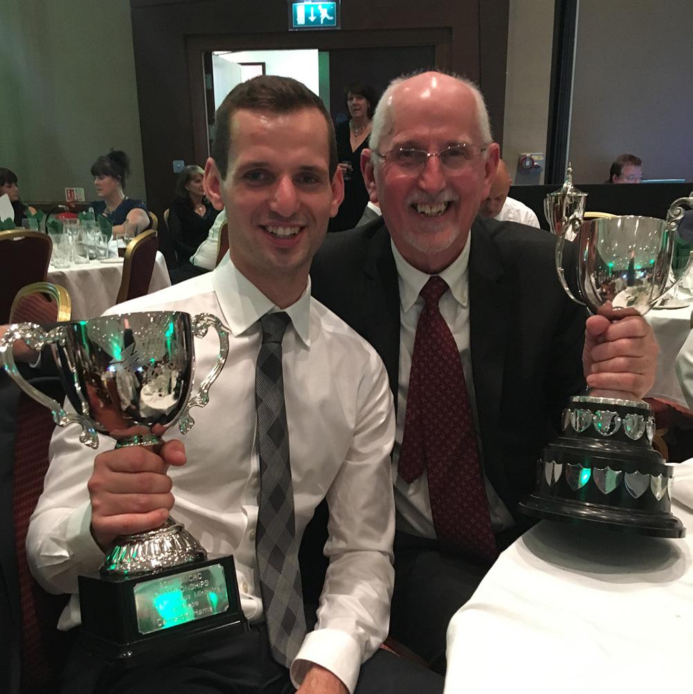Cam Harris awards BMCRC