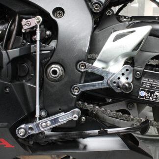 Honda CBR1000RR 2017 adjustable footrest kit