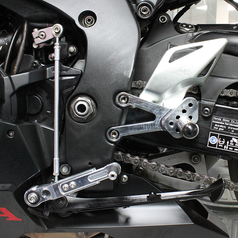 Honda CBR1000RR 2017 adjustable footrest kit