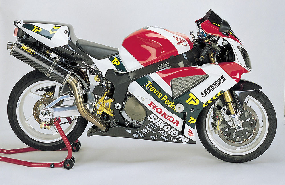 Honda VTR1000 bike Harris Performance