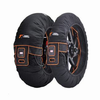 Evo Tri Zone Motorcycle Tyre Warmers