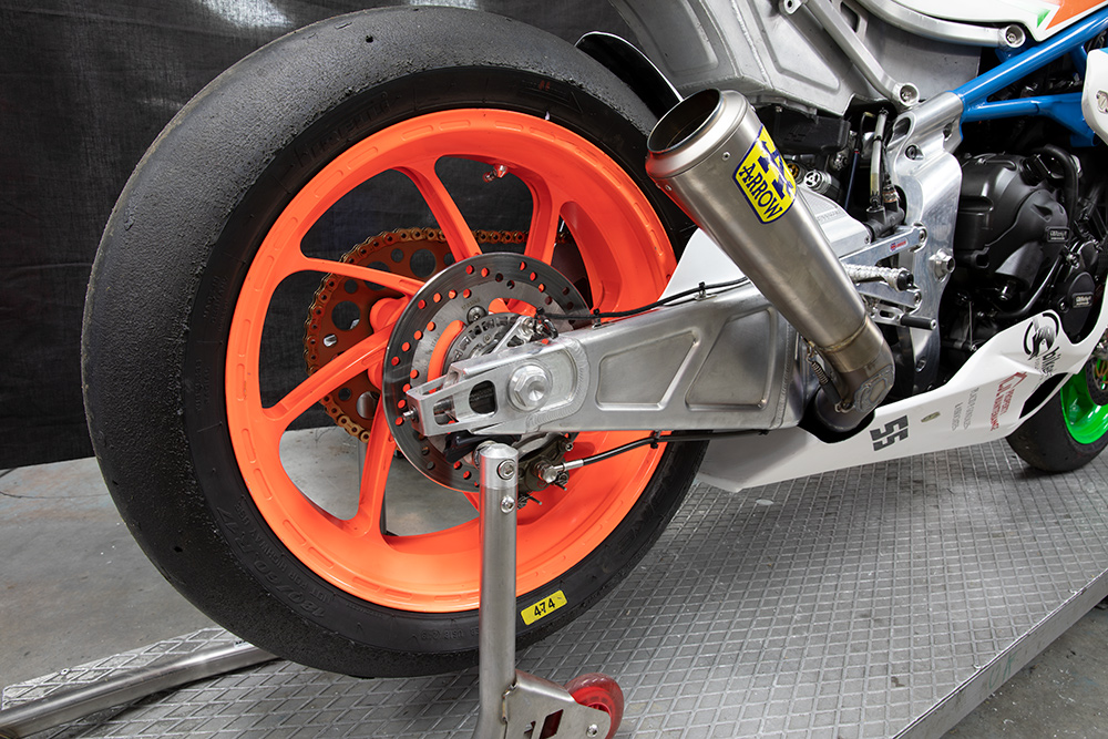 Harris GP2 swing arm