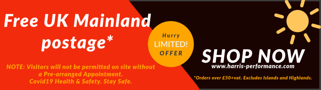 Harris Free delivery offer & Covid19 statement